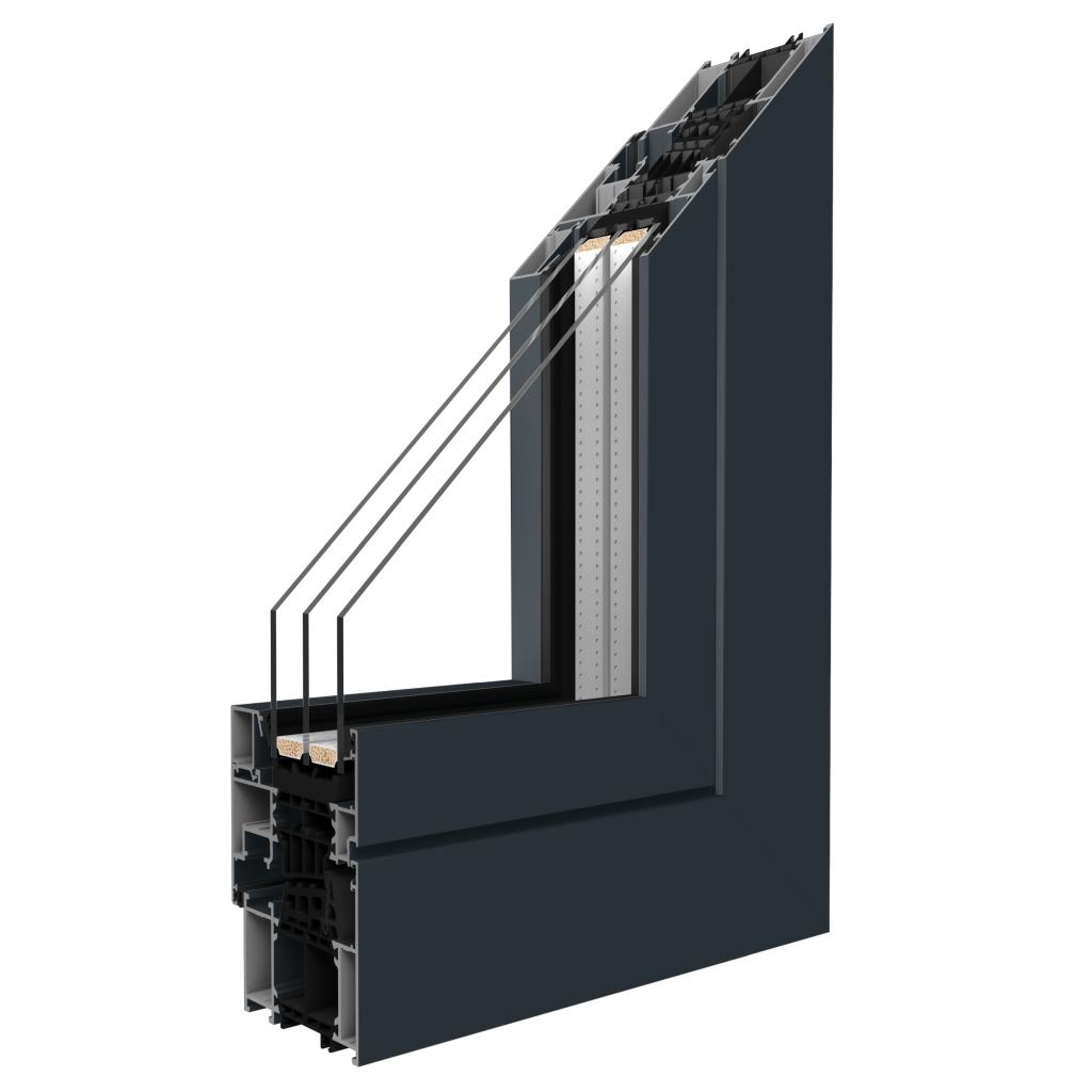 Katalog Alumnium-Fenster