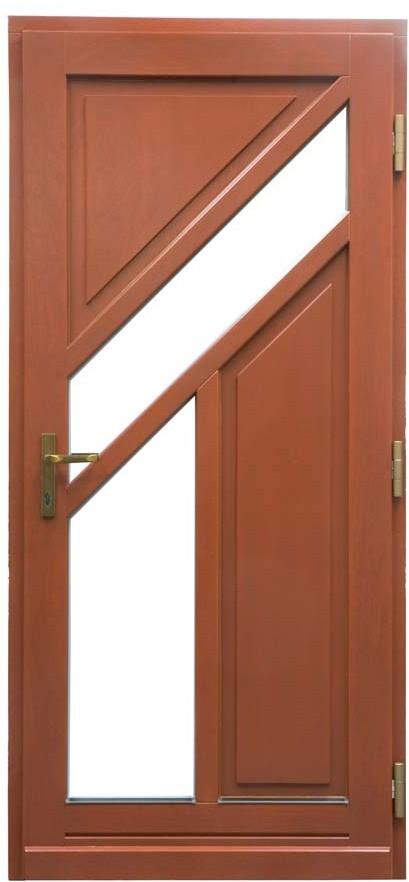Haustür aus Holz 2